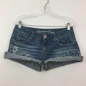 American Eagle Women's  Shorts Size 29 CUT OFF